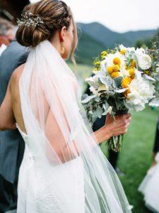 recogidos para bodas con velo