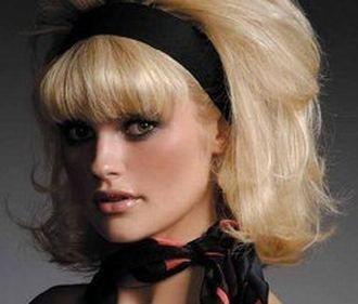 peinados años 60 para mujeres