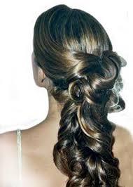 peinados graduacion coleta cabello largo