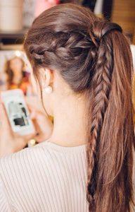 peinados modernos mujeres trenzas