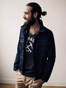peinado hipster recogido