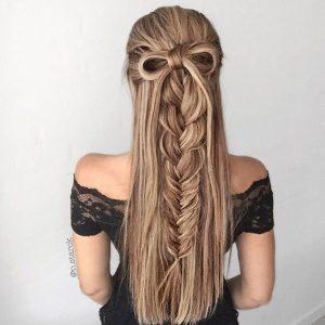 peinados modernos con trenza