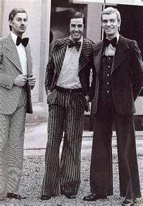 peinados años 20 para hombres ondas