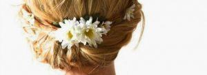 Recogidos con flores