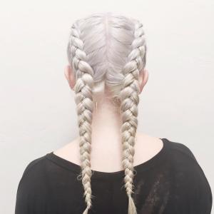 peinados modernos trenzas mujeres
