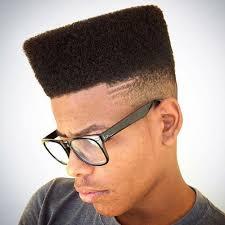 peinado años 60 flat top cuadrado