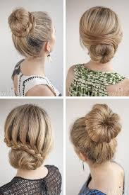recogidos elegantes para cabello largo