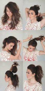 peinados pelo liso paso a paso