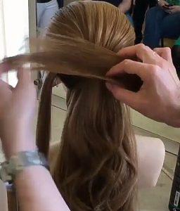 Recogidos pelo largo con lazo paso 3