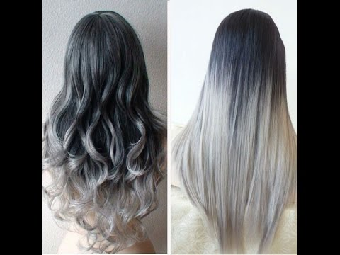 mechas californianas grises