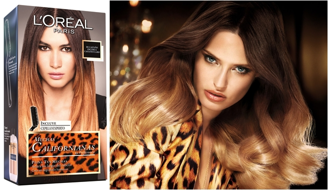 mechas californianas loreal