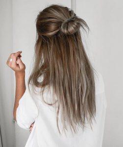 peinados pelo liso