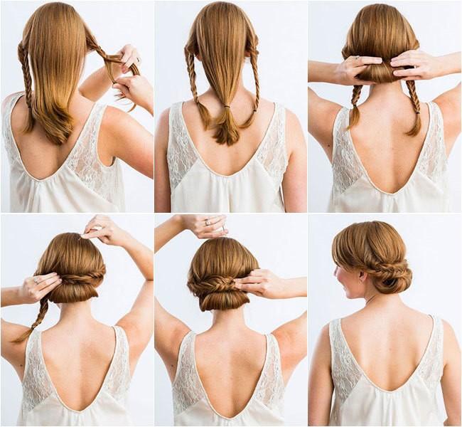 Peinados recogidos en alto