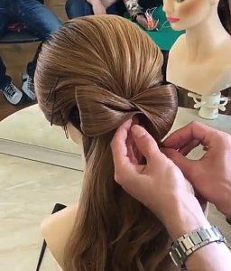 Recogidos pelo largo con lazo paso 4