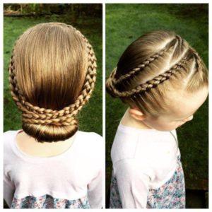 peinados con trenzas para niña