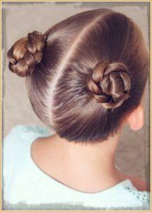 peinados con trenza para niña