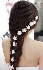 peinados con trenzas para bodas