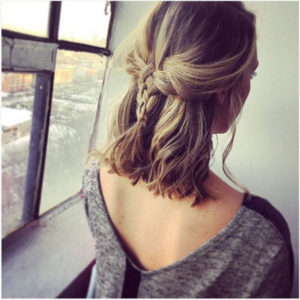 peinados con trenzas adolescentes