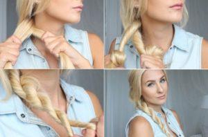 peinados faciles y sencillos pelo largo