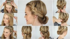 peinados fáciles y sencillos