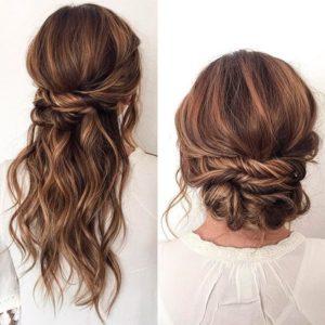 peinados faciles y sencillos para bodas