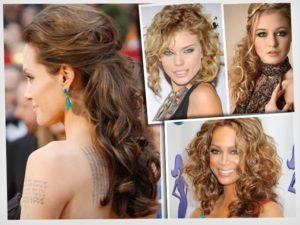 peinados faciles y sencillos pelo rizado