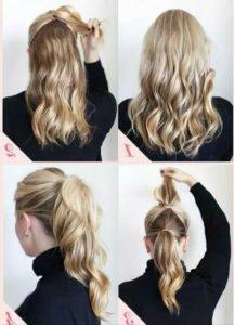peinados faciles y sencillos coletas
