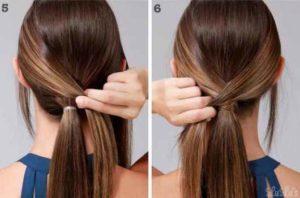 peinados faciles y sencillos con coleta