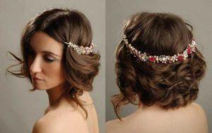 peinados para bodas pelo corto