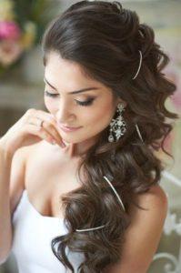 peinados para bodas de lado
