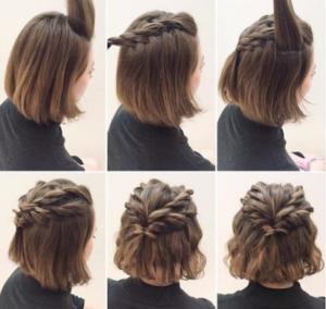 Imagenes de peinados recogidos faciles de hacer
