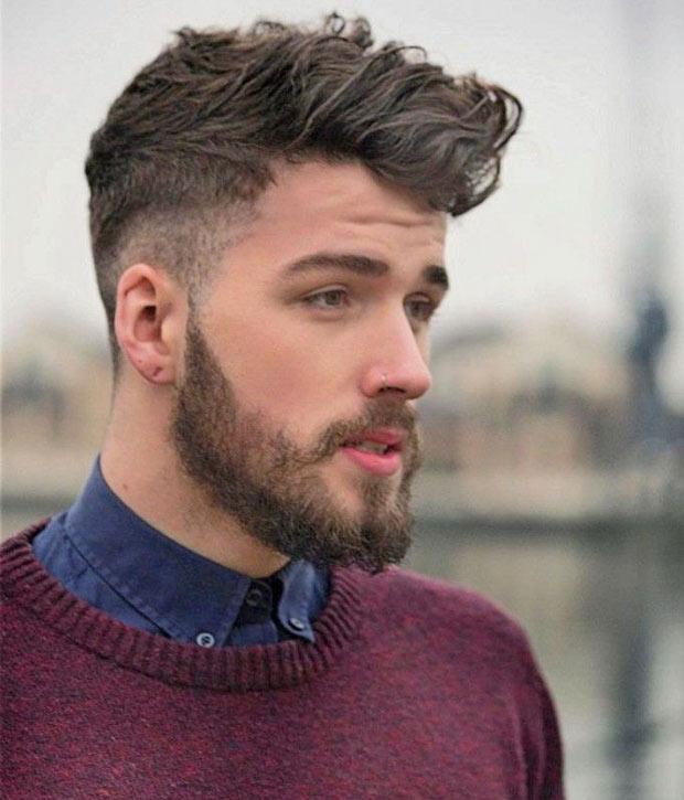 corte pelo hipster hombre clasico