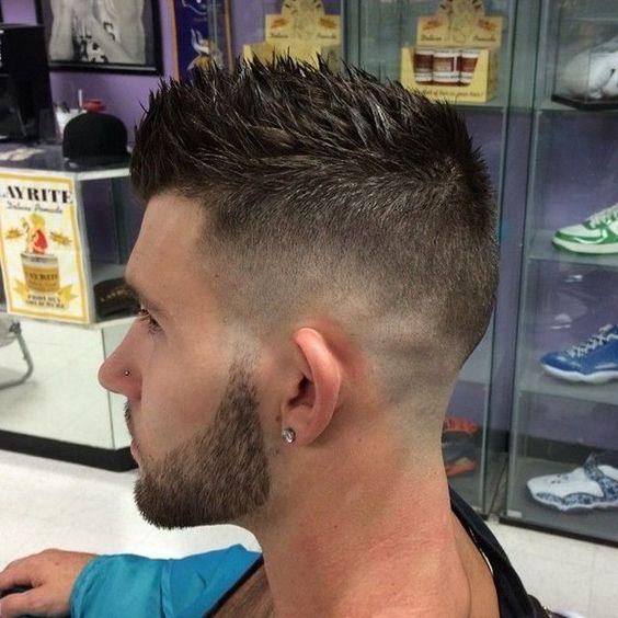 Peinados corte de pelo corto hombre