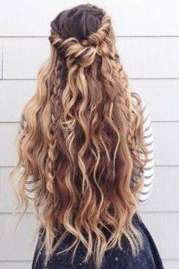 semirecogidos cabello largo