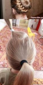 peinado bucle primera comunion