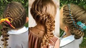 peinados para niñas con trenza