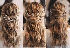 peinados semirecogidos decorados
