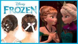peinados para niñas de princesa