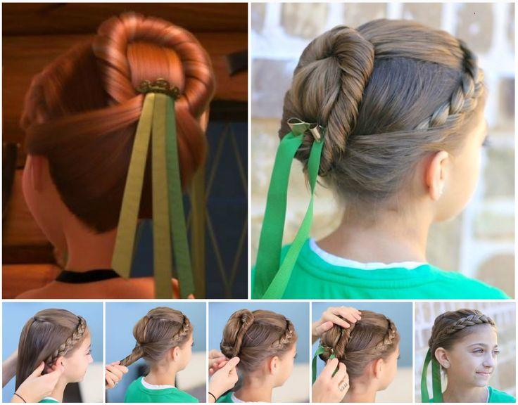peinado frozen anna