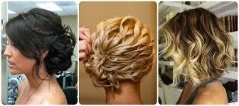 recogidos con ondas cabello corto