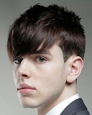 peinado asimetrico para hombre