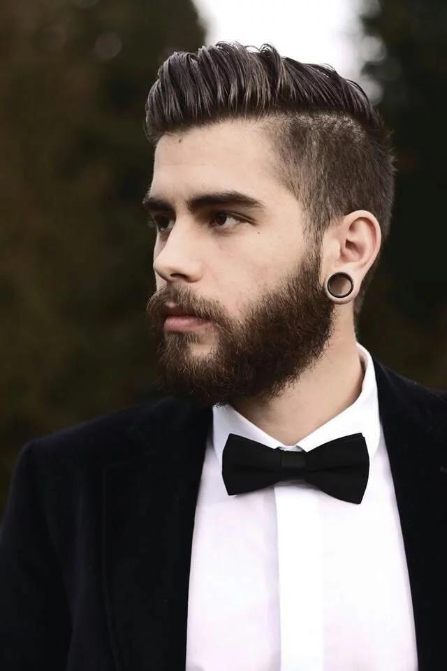peinado hipster hombre para bodas