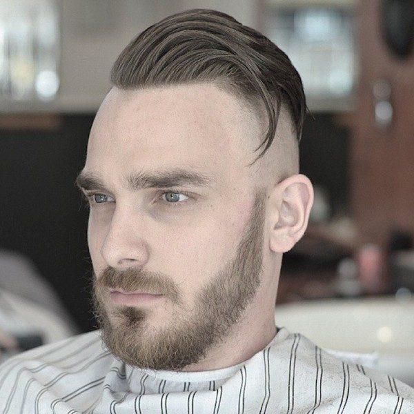 peinado hipster moderno hombre