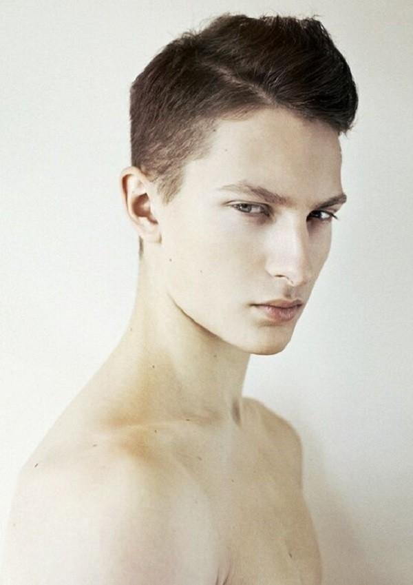 peinados hombre cresta