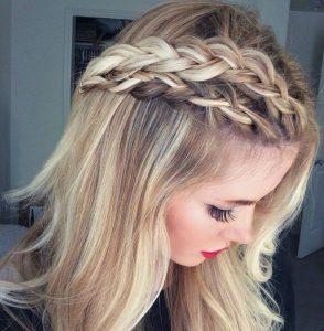 Peinados con el pelo suelto