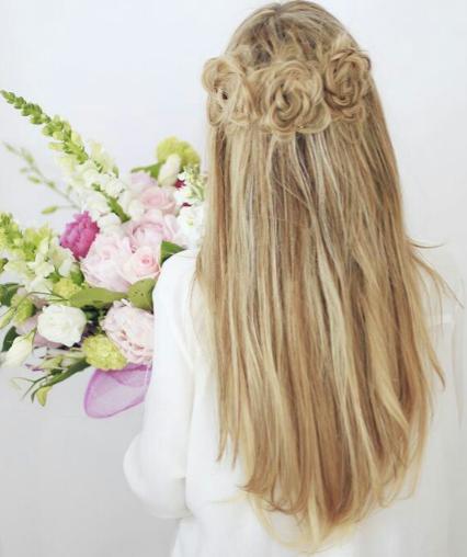 peinado semirecogido paso a paso