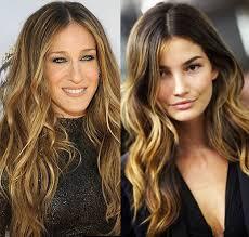 peinados con ondas para cabello largo