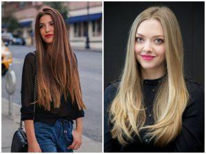 peinados pelo suelto cabello liso
