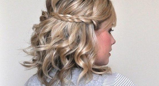 peinado a media melena