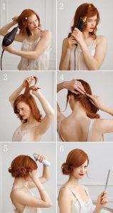 peinados pin up para bodas